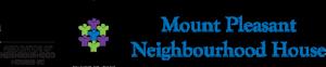 An image of the Association of Neighoburhood Houses BC and Mount Pleasant Neighbourhood House logos