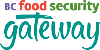 An image of the BC Food Security Gateway logo