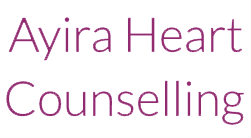 An image of the logo for Ayira Heart Counselling