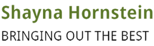 An image of the logo for Shayna Hornstein that reads